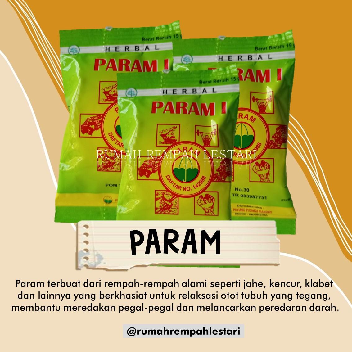 Param/Parem/Boreh Hangat