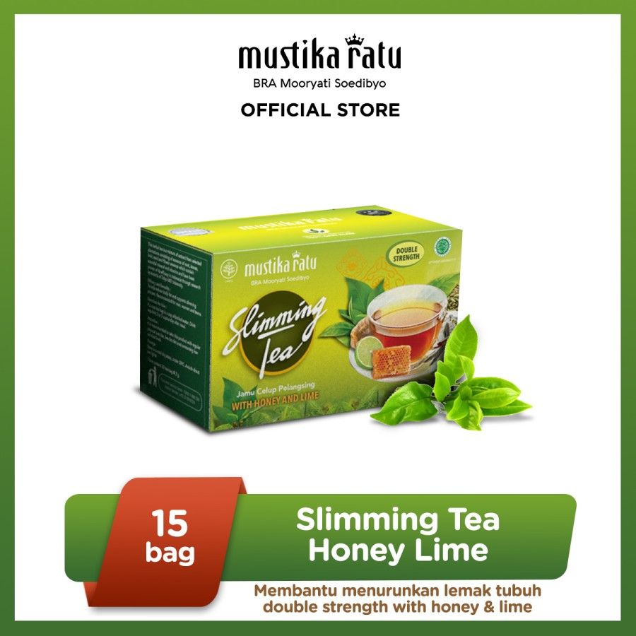 Slimming Tea Honey Lime 15 bags